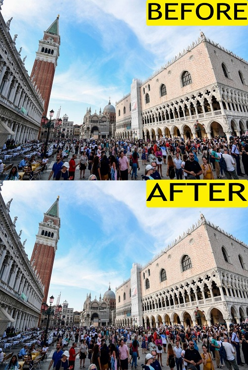 28 Pictures Of Before And After Coronavirus Lockdown