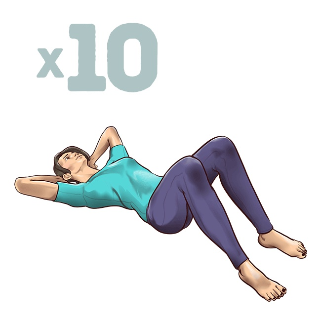 One-Minute Stretching Exercises To Get Rid Of Back Pain