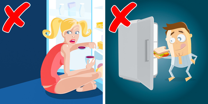7 Bedtime Mistakes That Make Us Gain Weight