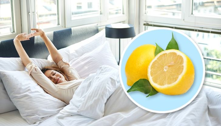What Will Happen if You Place a Piece of Lemon Next to Your Bed