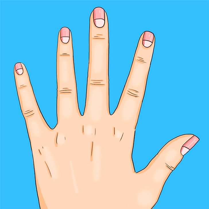 10 Health Problems the Moons on Your Nails Warn You About