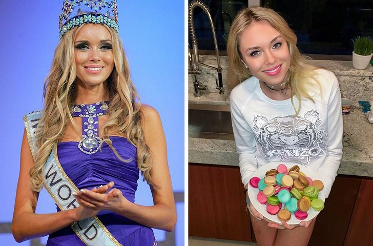 This Is How Beauty Queens Look on the Catwalk Versus in Real Life