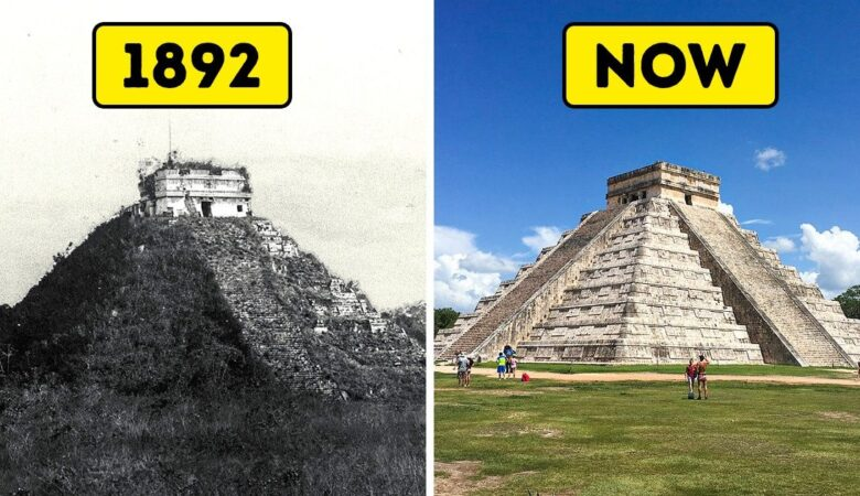 12 Before and After Photos Of How The World Has Changed Over Time