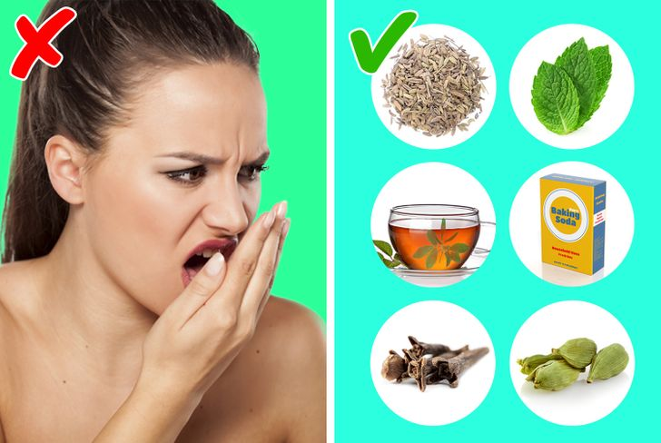 6 Ways To Stop Bad Breath And Kill Bacteria in Your Mouth