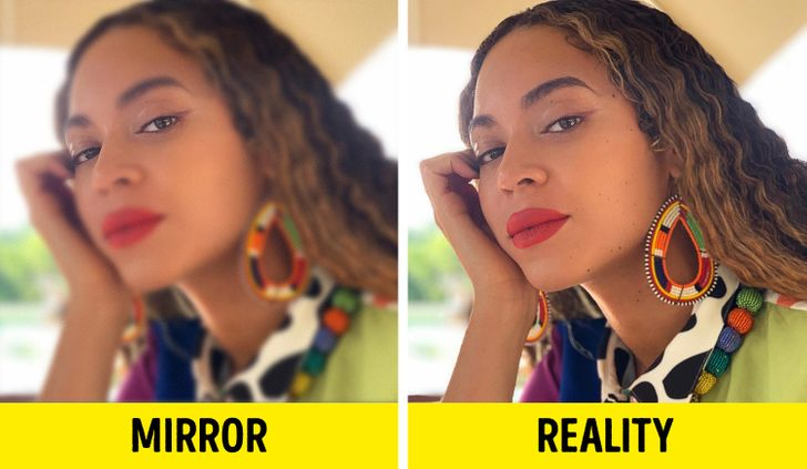 Experts Explain Why We Always Look Better in the Mirror