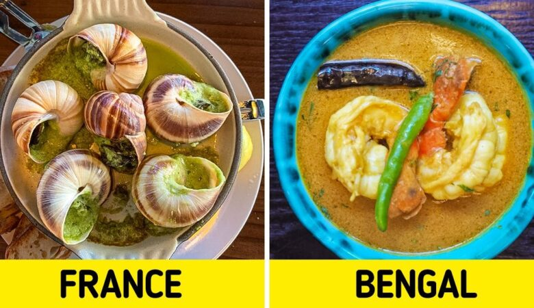 What Popular Winter Holiday Treats Look Like in Different Countries