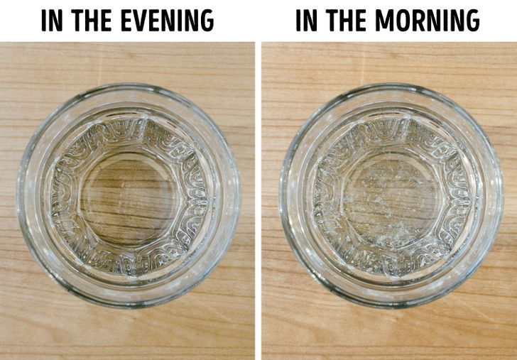 Why You Should Avoid Leaving a Glass of Water Near Your Bed