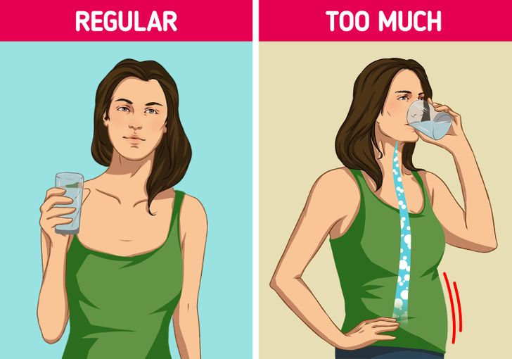 What Will Happen to Your Body If You Drink Too Much Water