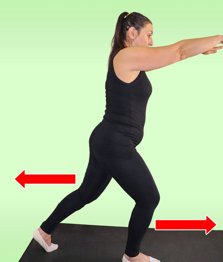 5 At-Home Standing Exercises That Will Sculpt Your Body From Every Angle