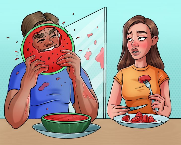 10 Comics That Prove People Often Marry Their Complete Opposites